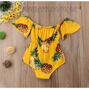 Girls Hawaiian Romper Size 12 months